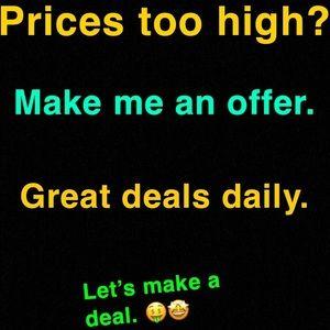 Other - 🚨Hi I'm Don and I'm a shopaholic! I like Deals!🤑